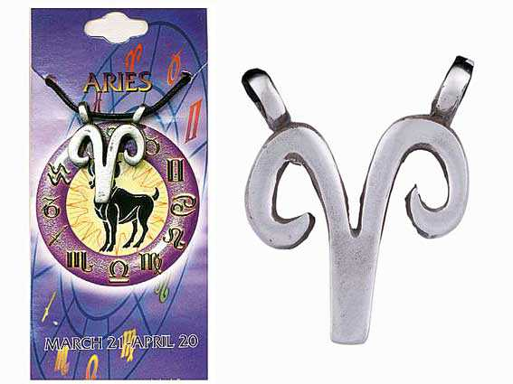 Astrological Pewter Pendant – ARIES